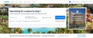 أفضل 10 مواقع و تطبيقات حجز الفنادق موقع بريسلين Priceline