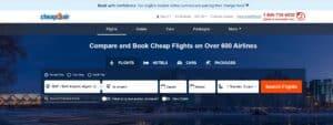 CheapOair من افضل مواقع حجز تذاكر طيران منخفضة