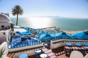 السياحة في تونس سيدي بوسعيد القرية السياحية-min