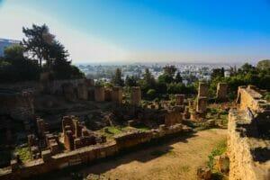 السياحة في تونس مدينة قرطاج الاثرية1-min