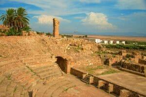 السياحة في تونس موقع بولا ريجيا تونس Bulla regia