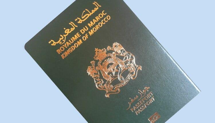 جواز السفر المغربي passeport maroc 2021