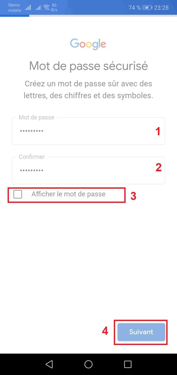 كيفية انشاء حساب gmail جديد
