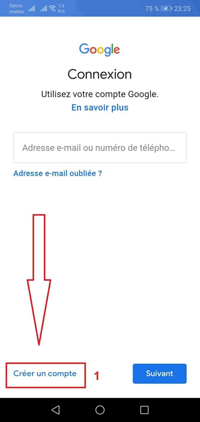 كيفية انشاء حساب جيميل بدون رقم هاتف على الجوال -فتح حساب gmailجديد