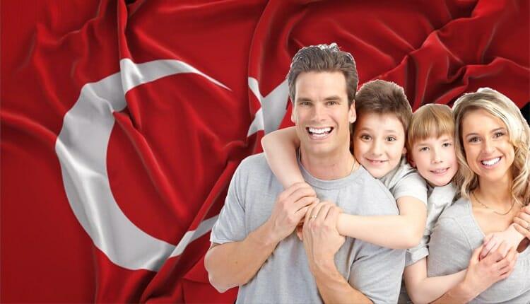 الاقامة العائلية في تركيا 2021