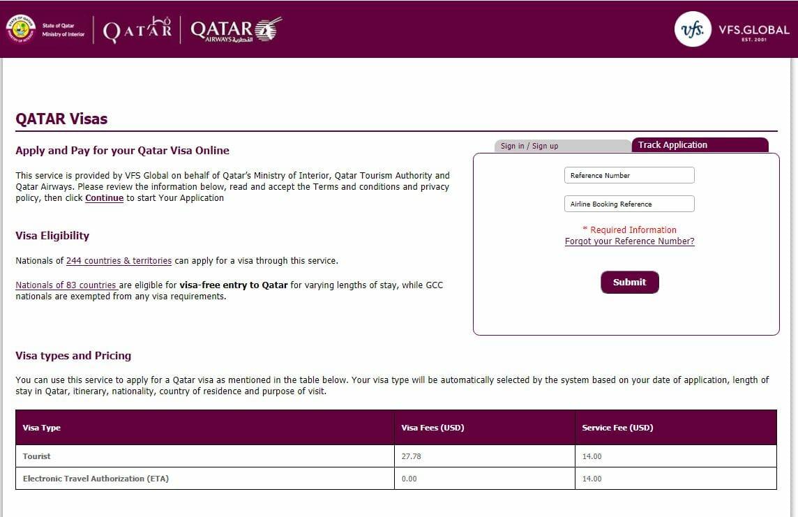 فيزا قطر للمصريين 2021